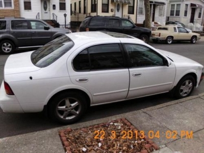 Photo 1998 NISSAN MAXIMA GXE V6-WHITE- AUTO SEDAN-119 MILES