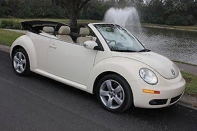 Photo 2007 VW BEETLE CABRIOLET - FLORIDA CAR - AUTOMATIC - HEATED SEATS