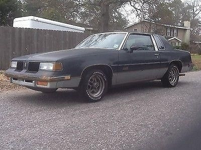 Photo 1987 OLDSMOBILE CUTLASS 442 clear title complete car