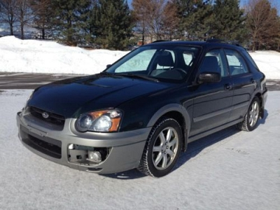 Photo 2005 Subaru Impreza Outback Sport  damage - easy fix  5-speed manual