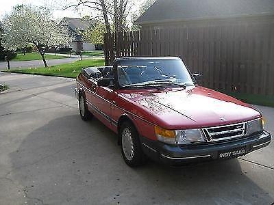 Photo 1991 Saab 900 SE Turbo Convertible 2-Door 2.0L