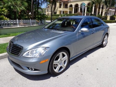 Photo 2008 Mercedes Benz S550 1-Owner Navi AMG HeatVent Seats Clean Fax