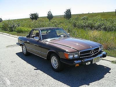Photo 1984 Mercedes Benz 380SL Original Owner