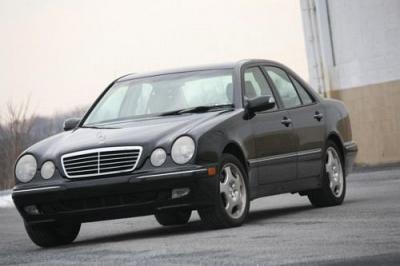 Photo 2000 Mercedes Benz E430, Inspected, Excellent Condition, Auto, Black