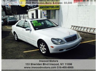 Photo 2000 MERCEDES S430 SHOWROOM CONDITION NEW TIRES