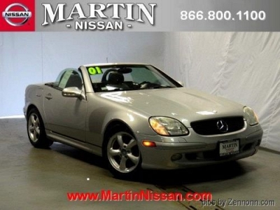 Photo 2001 MERCEDES-BENZ SLK-CLASS 2dr Car