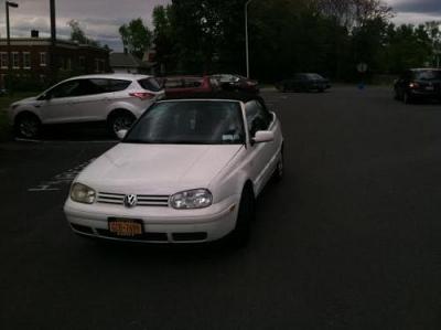Photo 2001 VW Cabrio Convertible - White - Automatic Transmission