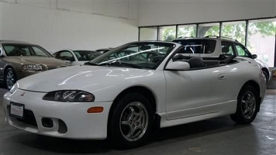 Photo 1998 Mitsubishi Eclipse Convertible GS-T Spyder Convertible 2D