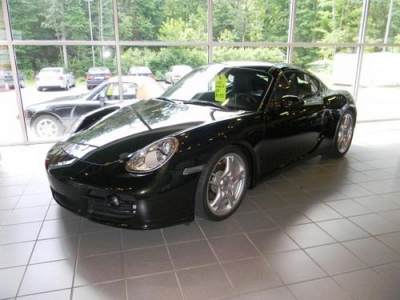 Photo 2008 Porsche Cayman S RARE OLIVE GREEN METALLIC