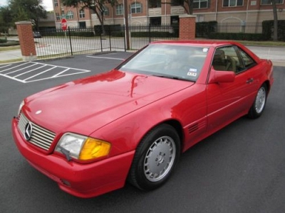 Photo 1991 Mercedes SL 500 Convertable 113k miles RED