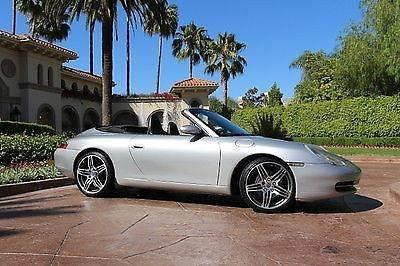Photo 2001 Porsche 911 996 Convertible Cabriolet 6speed - 75k Miles