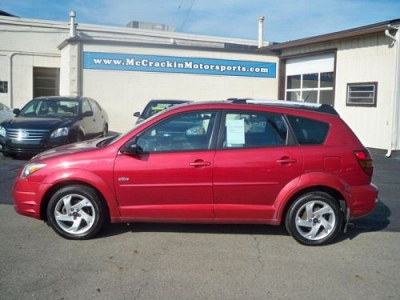 Photo 2003 Pontiac Vibe SUPER STARTER VEHICLE GAS MISER 2833 MPH 5 SPEED