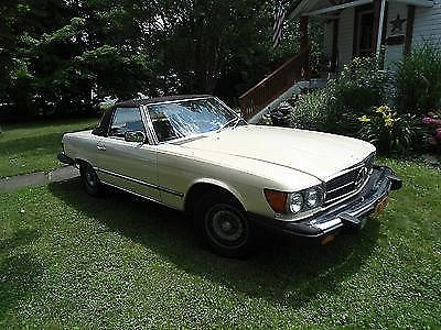 Photo Beautiful 1981 Mercedes Benz 380SL  78000 miles