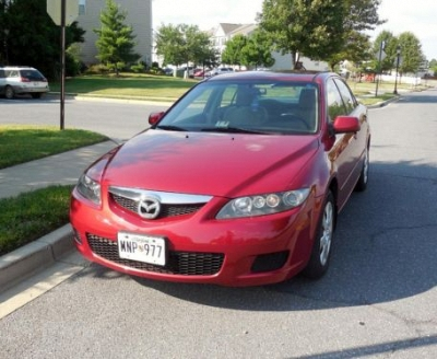 Photo 2006 Mazda 6 s sport- Red- 4 door-201500K Mi