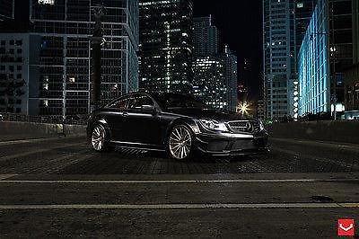 Photo 2012 Mercedes-Benz C63 AMG Black Series by Vossen