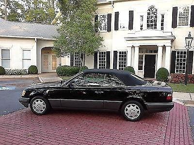 Photo 1995 mercedes E320 convertible Southern car no rust