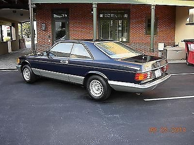 Photo 1983 Mercedes Benz 380 SEC. One owner. very low miles.