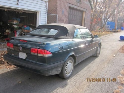 Photo 1995 Saab 900 convertible