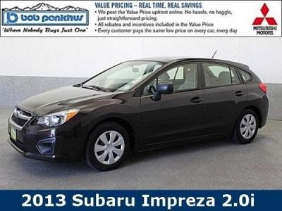 Photo 2013 Subaru Impreza 4D Hatchback 2.0i