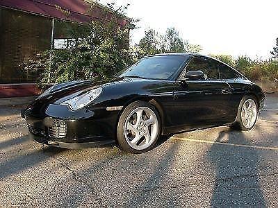 Photo 2001 Porsche 911 Carrera Coupe 2-Door 3.4L 996 C2 75K MILES BLACK 01