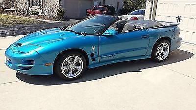 Photo 1999 Pontiac Firebird Trans Am Convertible Rare Color 1 of 24 made