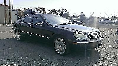 Photo 2003 Mercedes Benz S600 Black Well Maintained......