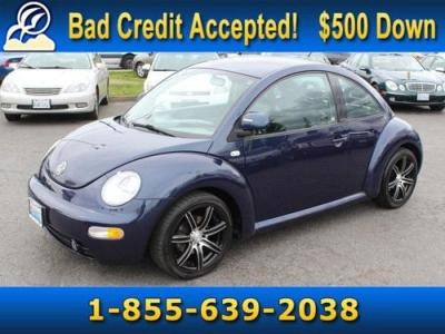 Photo Batik Blue Metallic 2000 Volkswagen Beetle GLS