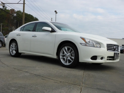 Photo 2014 Nissan Maxima 3.5 S Sedan Pearl White