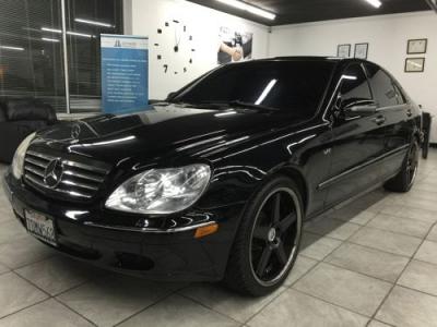 Photo 2001 MERCEDES S500 Black Loaded All Power V-8 Luxury Sedan