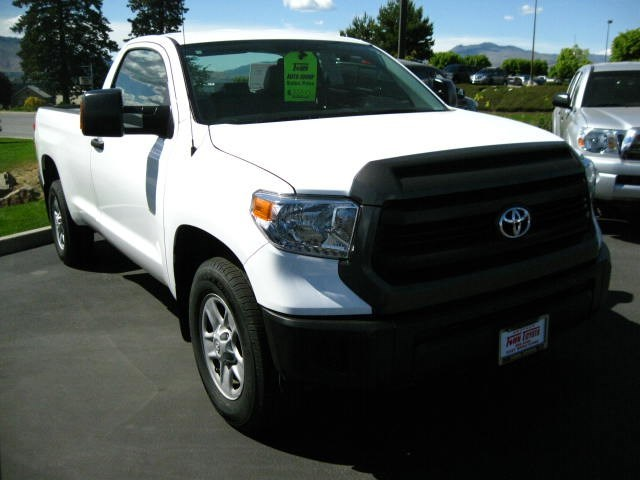 Photo 2014 Toyota Tundra 4x4 Regular Cab SR Long Bed