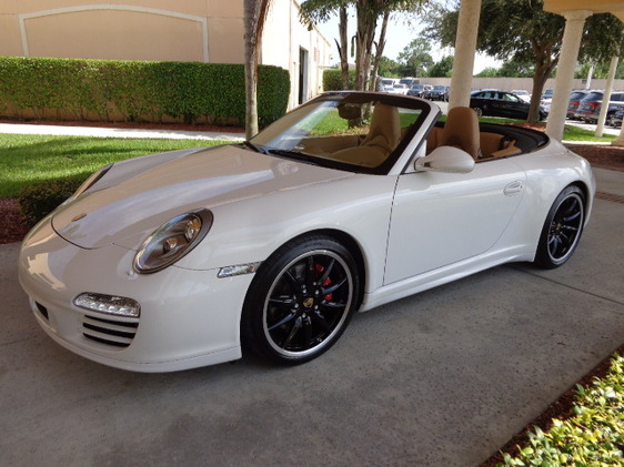Photo 2012 Porsche 911 Carrera GTS Cabriolet