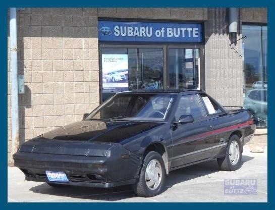 Photo 1991 Subaru XT 6 4WD