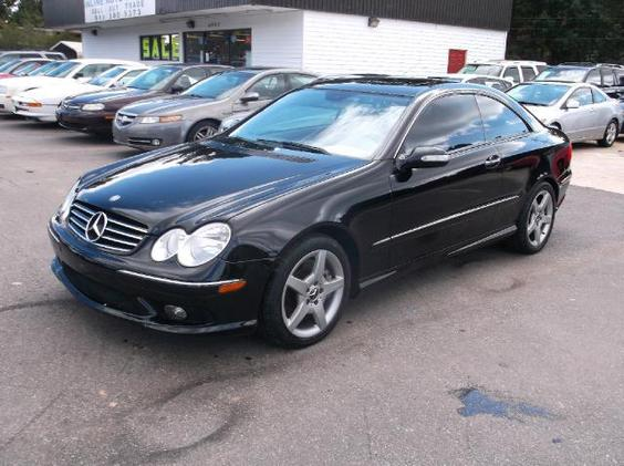 Photo 2005 Mercedes-Benz CLK500 Coupe