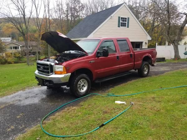 01 F250 V10 Crew Cab 6 Lehigh Valley Cars Trucks For Sale
