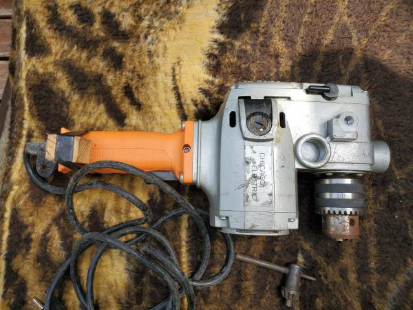 Photo 12quot Hole Hog Chicago Electric Drill - $90 (Springtown)