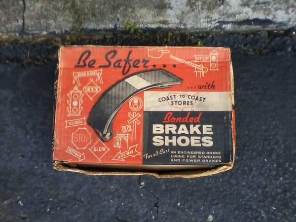 Photo 1954 Ford And Nash Statesman Rear Brake Shoes NEW - $20 (Northton)