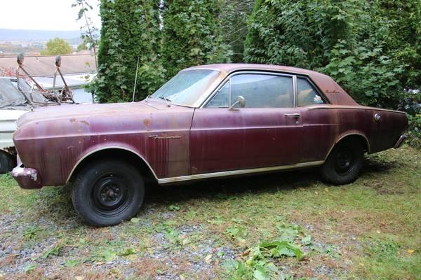Photo 1966 Ford Falcon V8 4spd  complete parts car - $7,000 (New Tripoli)