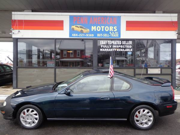 Photo 1996 HONDA PRELUDE SI, COLLECTOR39S COUPE, CLEAN INOUT, CUSTOM GREEN - $3,900 (ALLENTOWN)