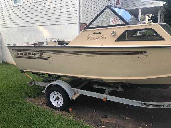 Photo 19 Starcraft Islander Outboard - $1,250 (Red Hill, PA)