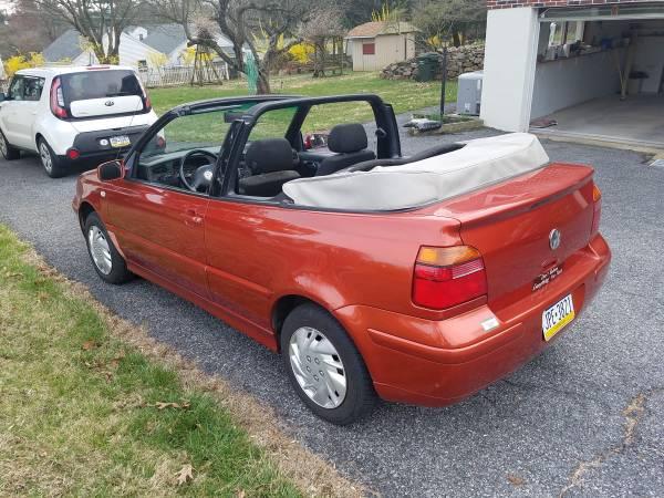 Photo 2002 VW Cabrio - Rare Copper Color - $2300 (Hellertown)