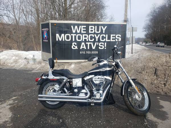 Photo 2003 Harley Davidson Dyna Low Rider Only 700 Miles Easy Financing - $7,999 (Lehighton)
