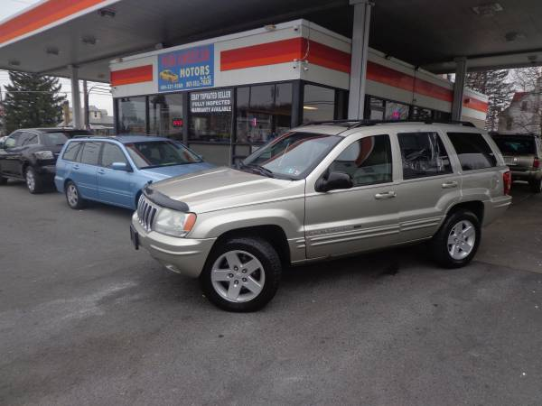Photo 2003 JEEP GRAND CHEROKEE LIMITED,REMOTE STARTER, EXCELLENT CONDITION - $5800 (Allentown)