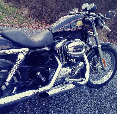 Photo 2007 50th Anniversary Sportster only 2000 made - $5,300 (lehigh valley)