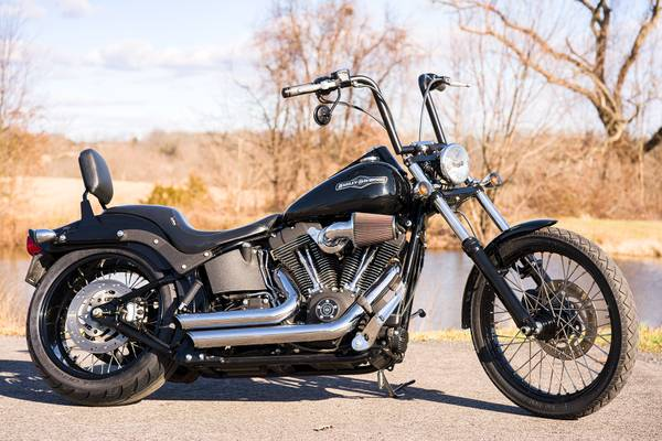 Photo 2007 Harley-Davidson Softail Night Train FXSTB w Extras 15,454 Miles - $9,495 (Zieglerville)