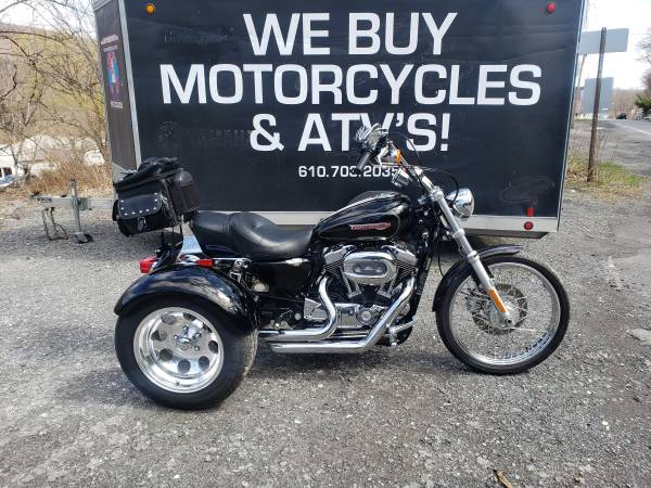 Photo 2008 Harley Davidson Sportster XL 1200 Trike - $10,999 (NESQUEHONING)