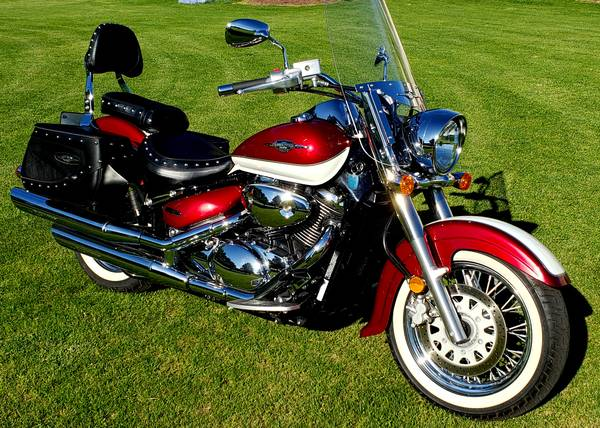 Photo 2008 Suzuki Boulevard C50T Like New only 1,994 Actual Miles Mint - $6,299 (coplay)