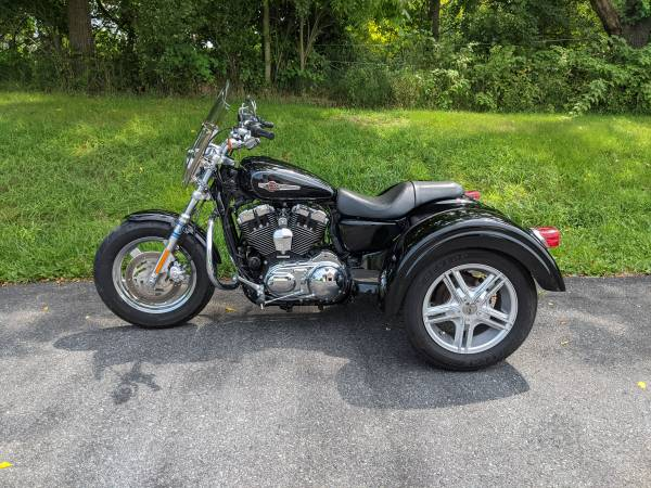 Photo 2011 Harley Davidson Sportster 1200 XL Trike w Lehman - $13,500 (Nazareth)