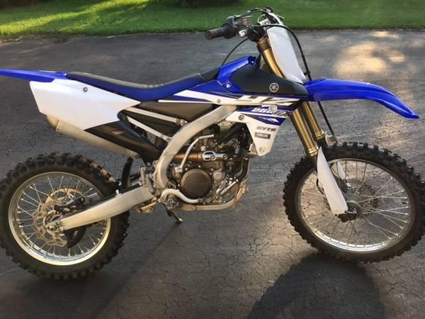 Photo 2015 Yamaha YZ250FX - $5,500 (Allentown)