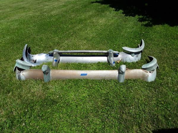 Photo 55 chevy bumpers - $395 (Bath Pa.)