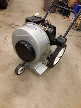 Photo 5hp walk behind leaf blower - $140 (Collegeville pa)